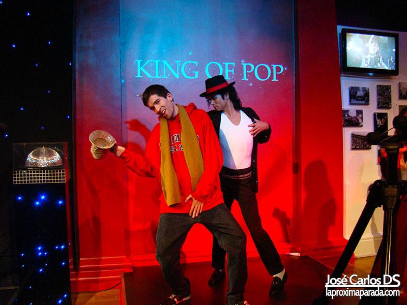 Michael Jackson Madame Tussauds Londres