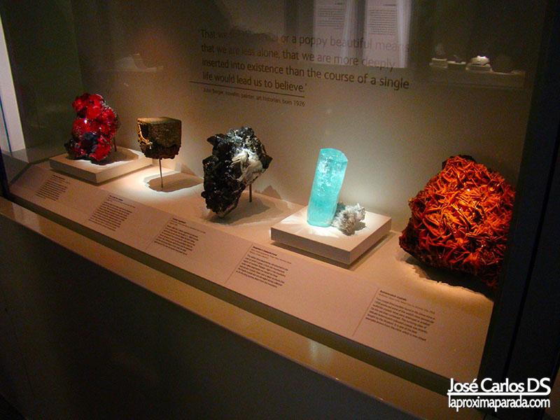 Minerales y Piedras Preciosas Museo Historia Natural Londres