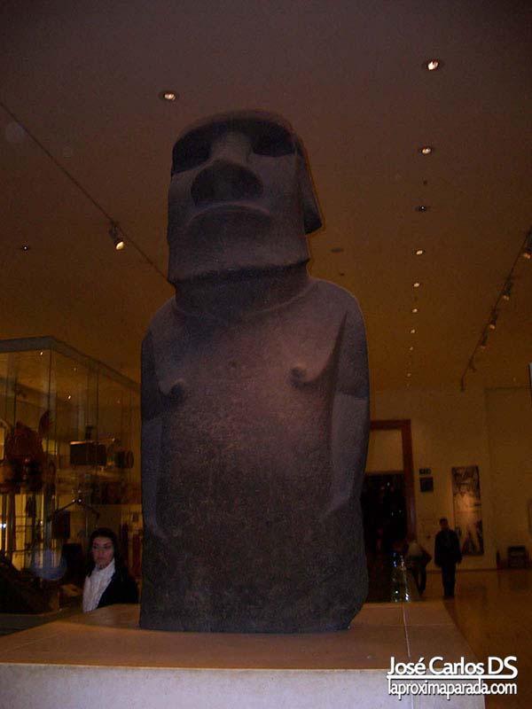 Moái Museo Británico Londres