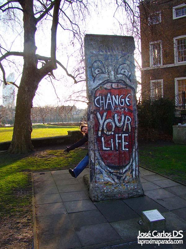 Muro de Berlin Imperial War Museum Londres