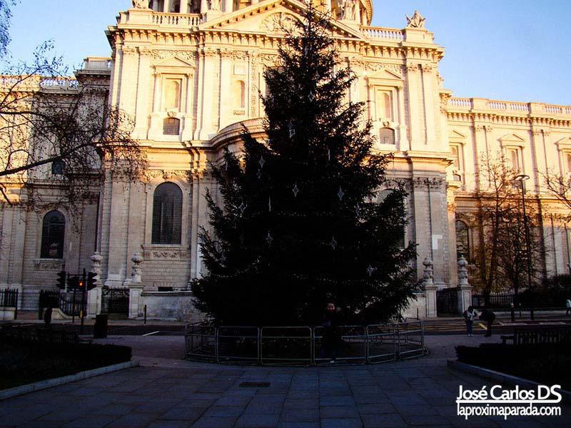 Navidad Saint Paul's Cathedral Londres