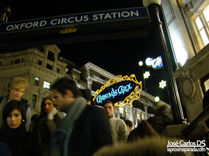 Oxford Circus Station Londres