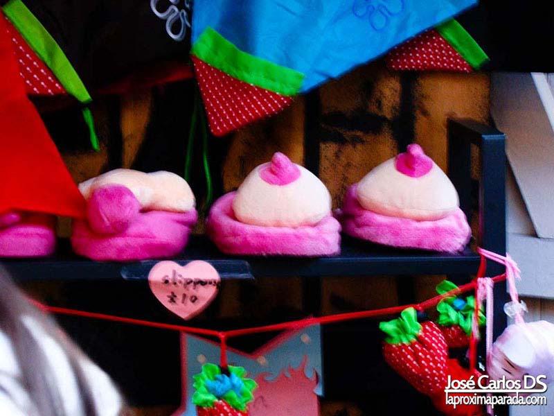 Penes & Tetas Zapatillas Camden Market