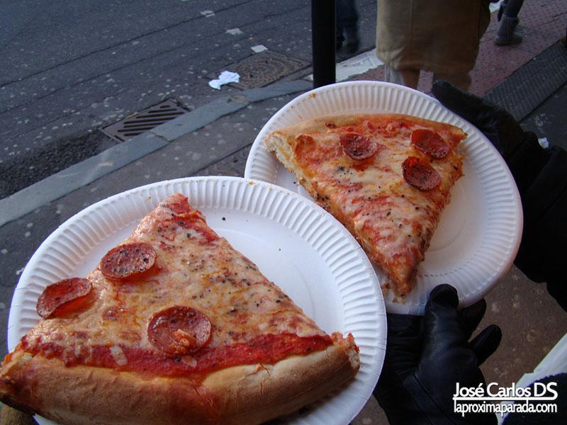 Pizzas Camden Market Londres