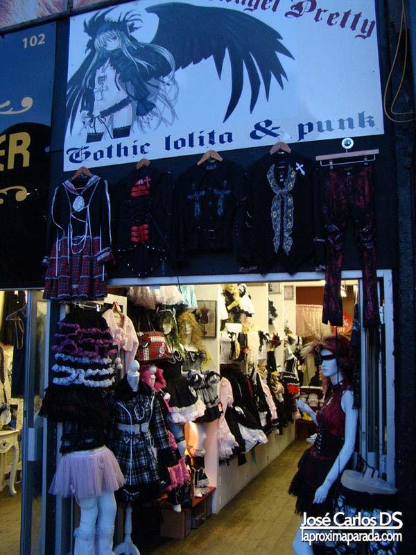 Ropa de Gothic lolitas Camden Market Londres