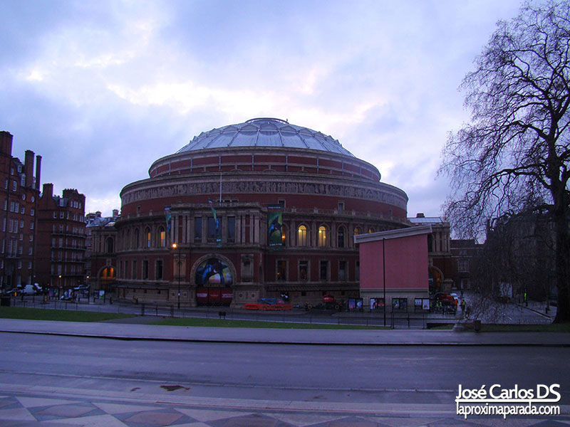 Royal Albert Hall Kensington Gardens Londres