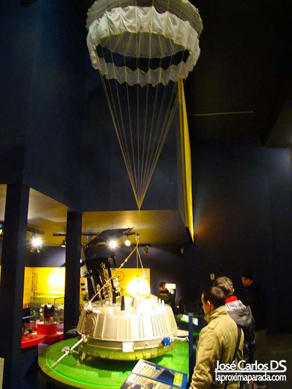 Sonda Espacial Museo de la Ciencia Londres