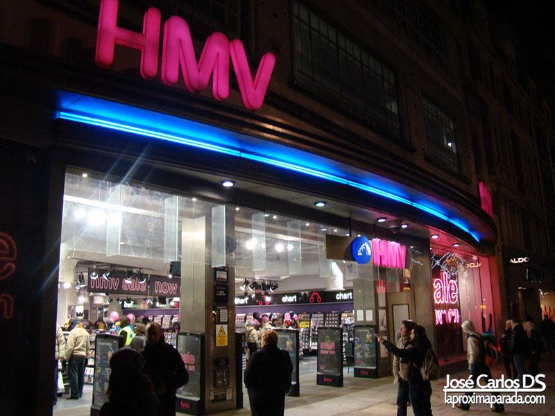 Tienda HMV Londres