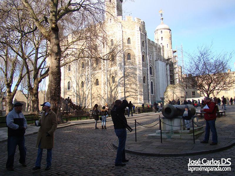 Vistas Torre Blanca de la Torre de Londres