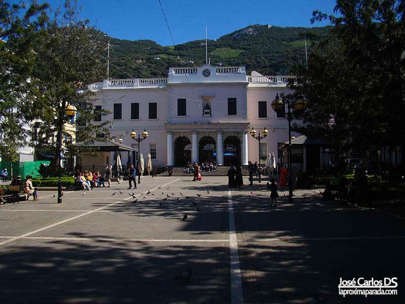Edificio Parlamento Gibraltar
