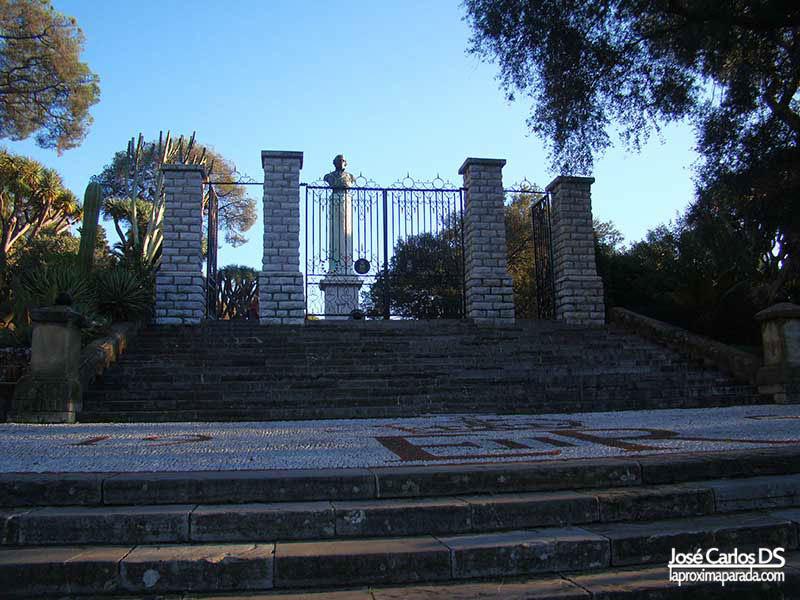 Entrada Jardín Botánico Gibraltar