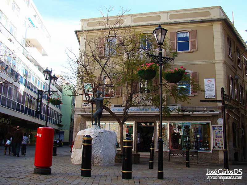 Escultura Main Street Gibraltar