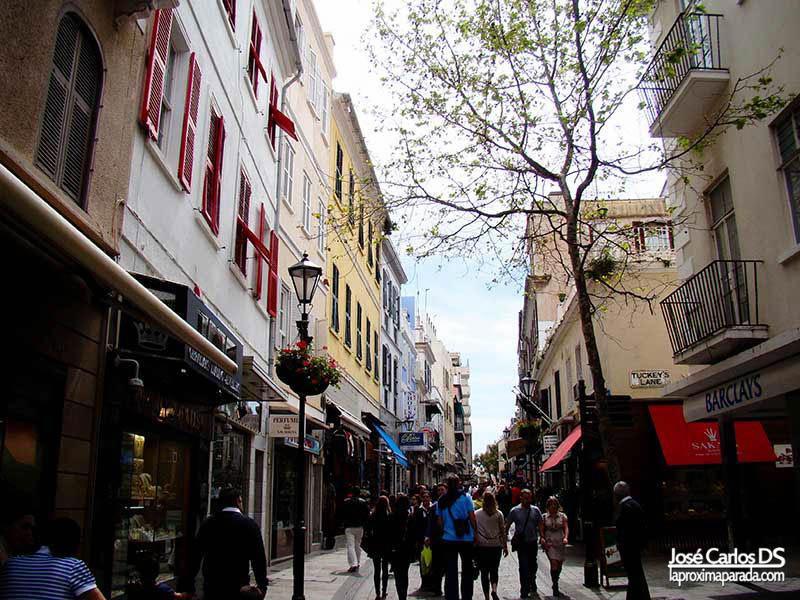 Main Street Gibraltar