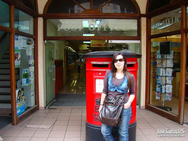 Oficina Correos Gibraltar en Main Street