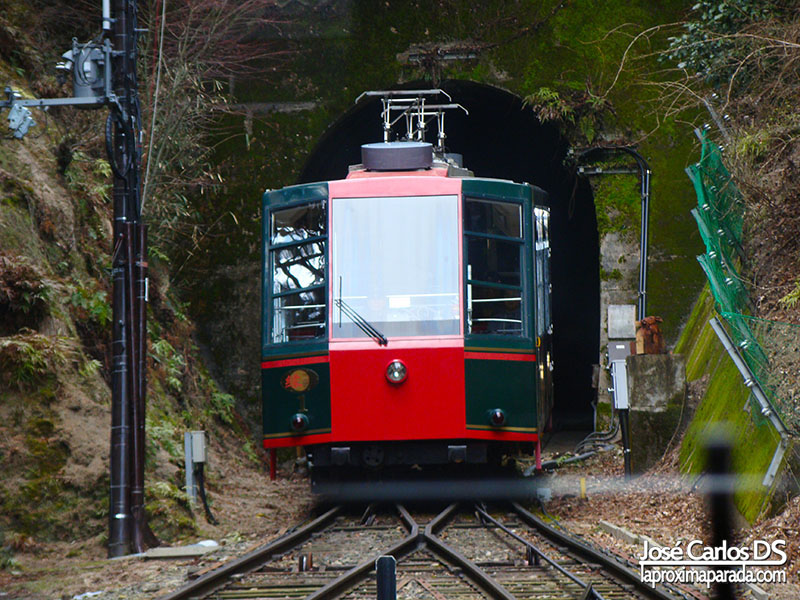Cable Car en Hiei, Kyoto