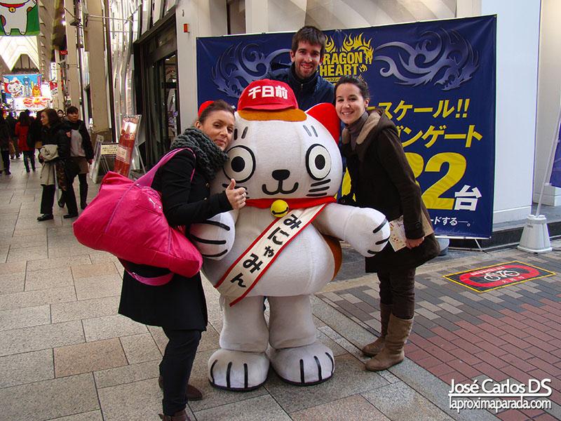 Mascota en Dotonbori, Osaka