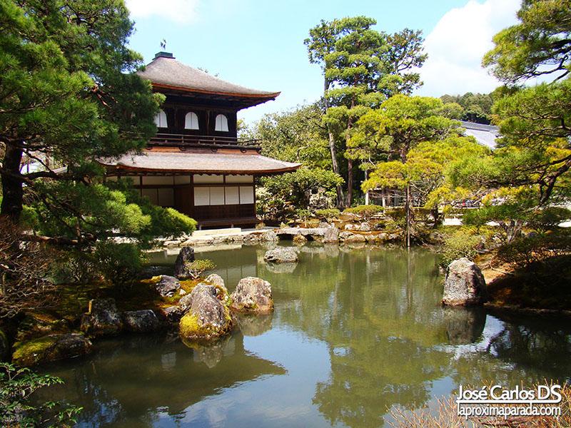 Pabellón Plateado en Kyoto