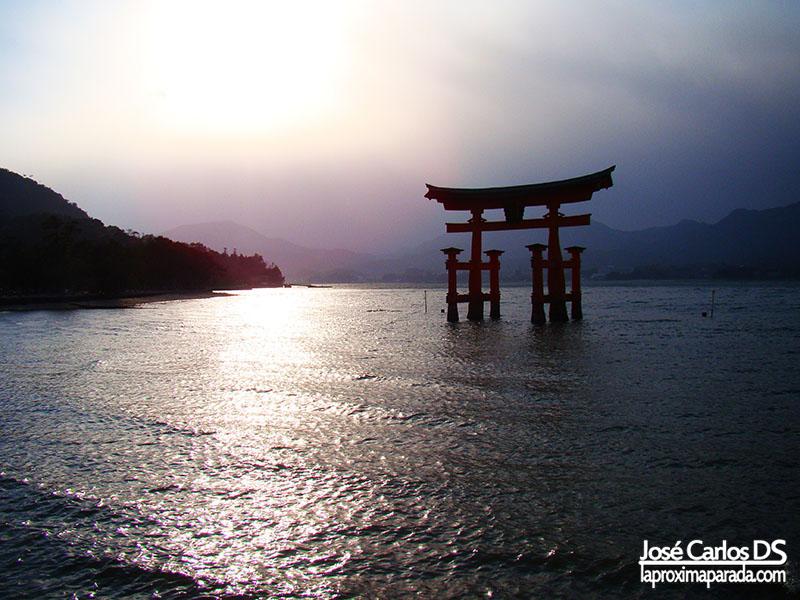 Anochecer en Miyajima