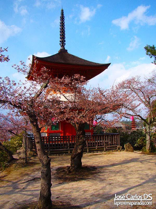 Pagoda Tahō-tō en Miyajima