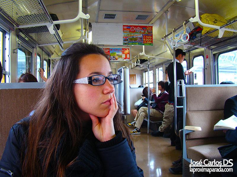 Tren JR Rumbo a Miyajima