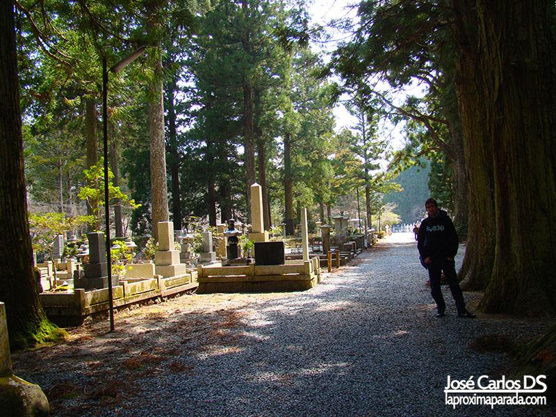 Cementerio de Okunoin Koyasan
