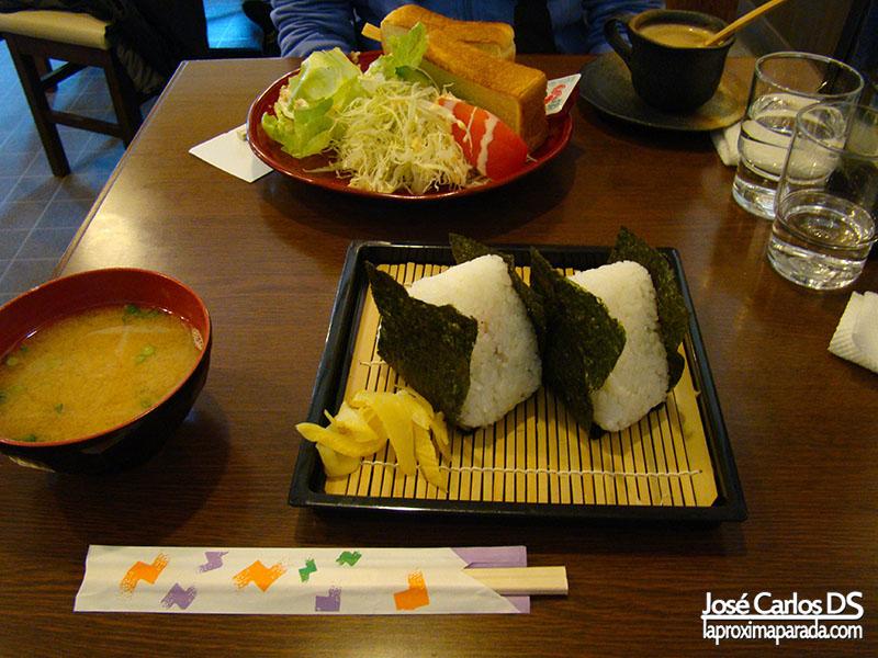 Comida en Koyasan