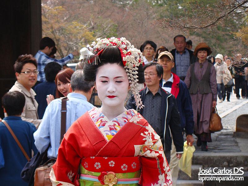Geisha en Saga-Arashiyama Kyoto