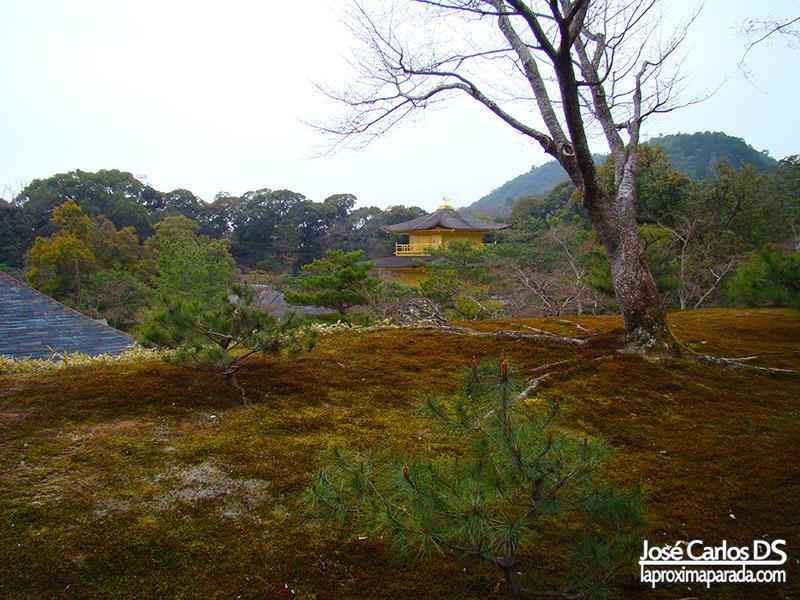 Jardines Kinkaku-ji Templo del Pabellón Dorado Kyoto