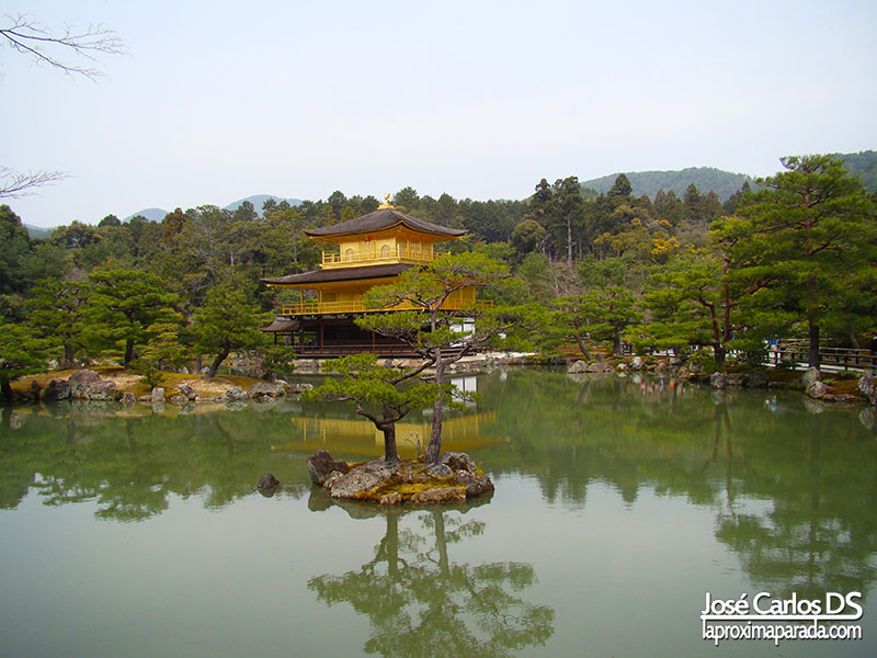 Kinkaku-ji Templo del Pabellón Dorado Kyoto