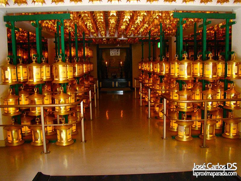 Lámparas Templo Okunoin