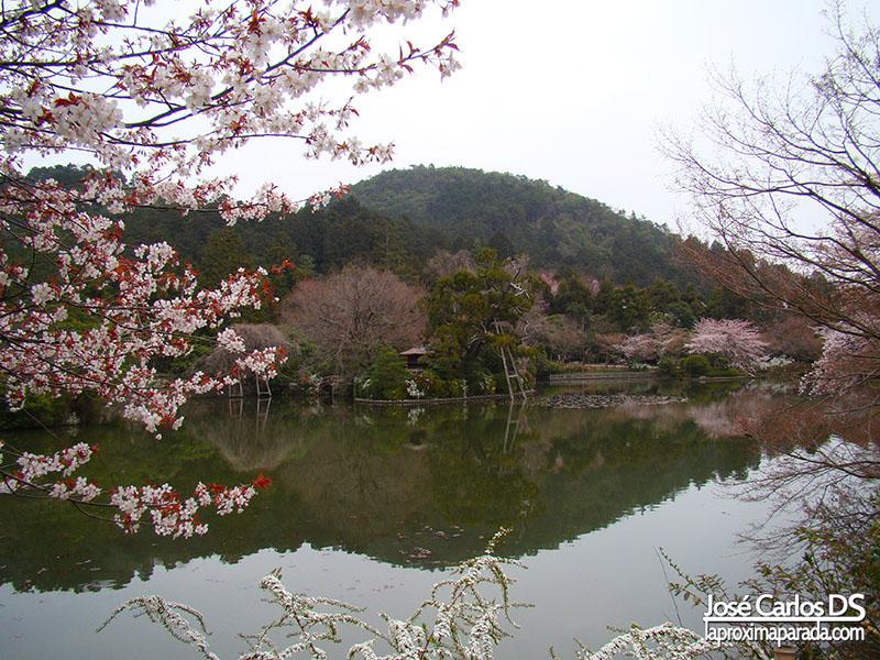 Lago Templo Ryōan-ji Kyoto