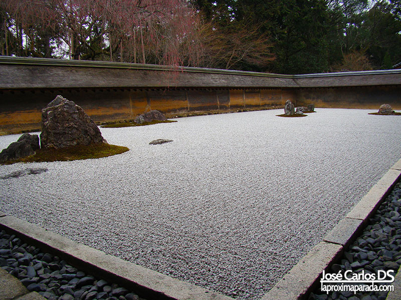 Templo Ryōan-ji Jardin Zen Kyoto