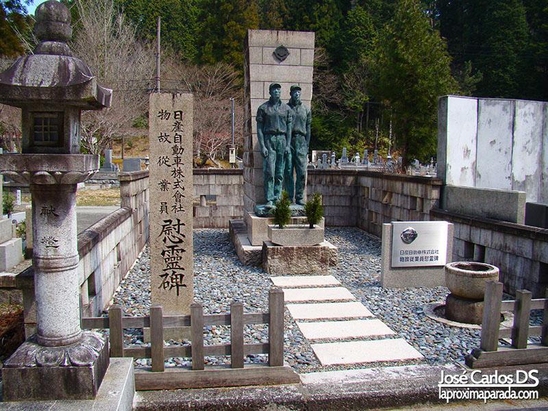 Tumba Nissan Cementerio Okunoin