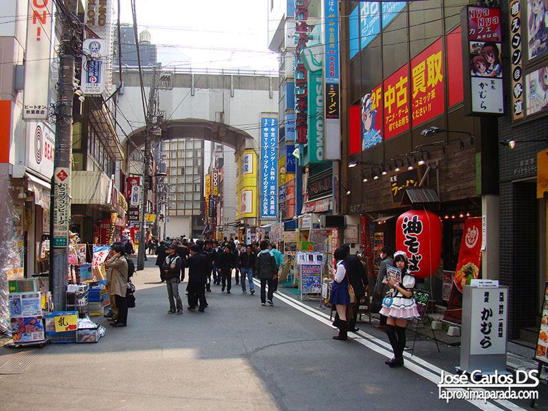 Consumismo en Akihabara