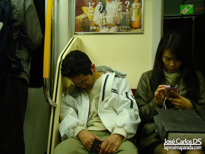 Japoneses Dormidos