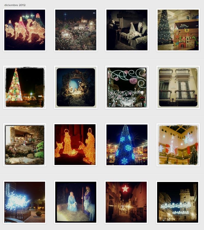 Navidad Málaga Instagram