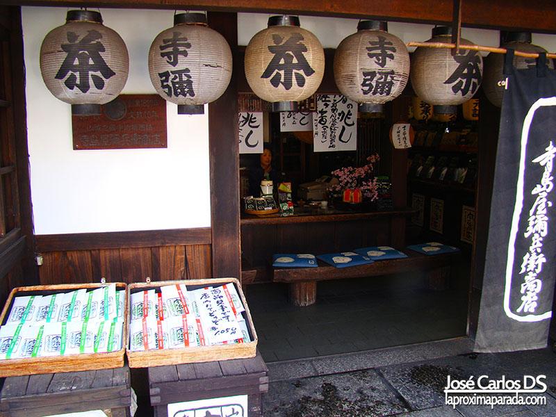 Tienda Souvenirs Japón
