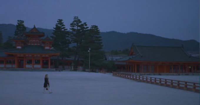 Heian-jingu shrine Lost in Translation