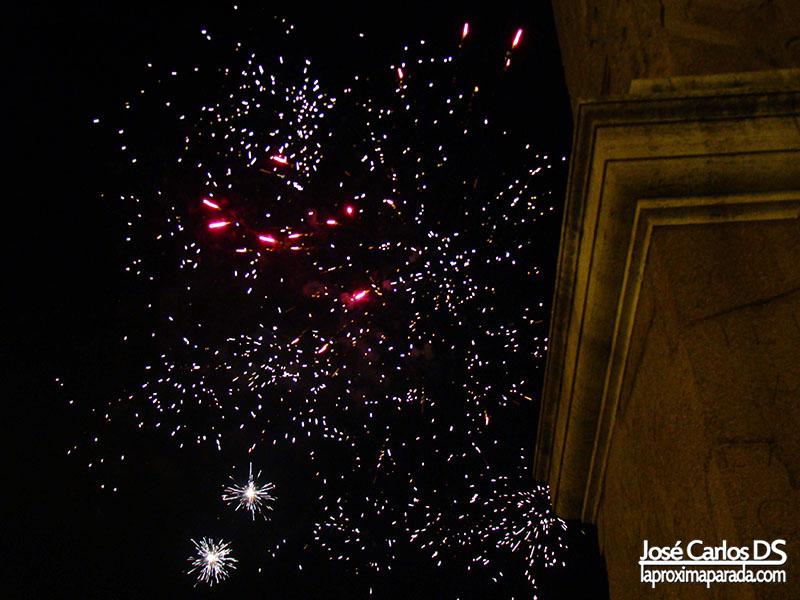 Fuegos Artificiales Fin de Año, Plaza del Popolo
