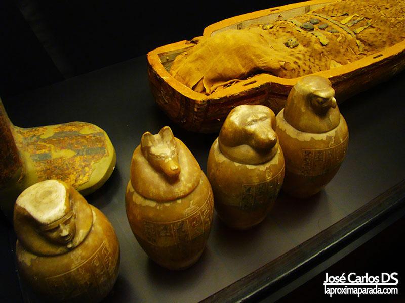 Ánforas y Momias Egipcias