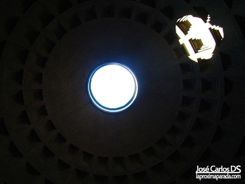 Óculo Cúpula Panteón de Agripa