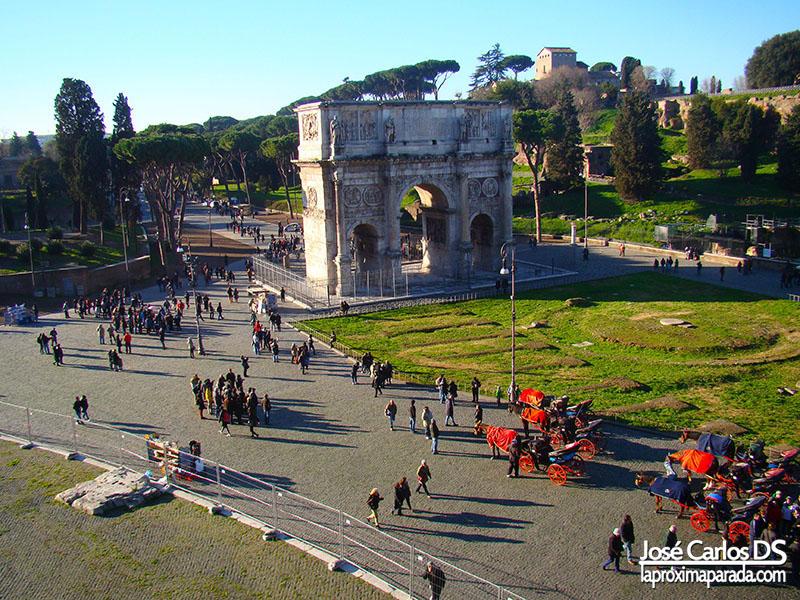 Arco de Trajano - Roma