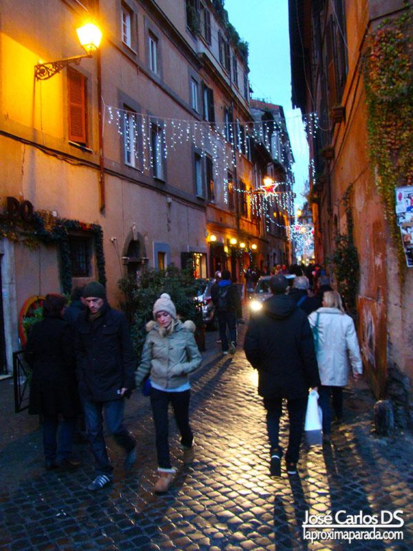 Barrio Trastévere, Roma