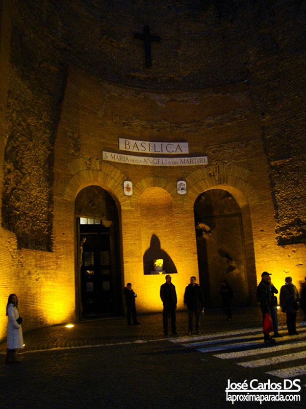 Basílica de Santa María de los Ángeles, Roma