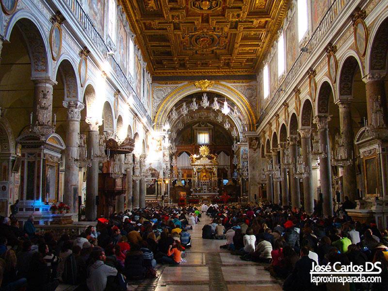 Basílica de Santa María en Aracoeli