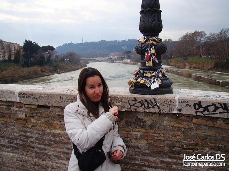 Candados del Amor en Roma