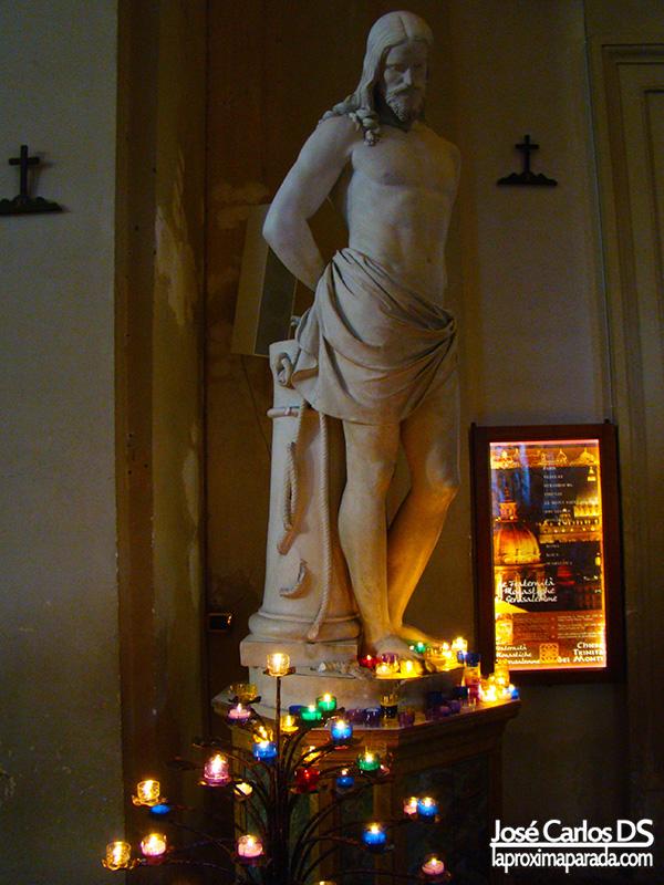 Cautivo en Iglesia de la Trinità dei Monti