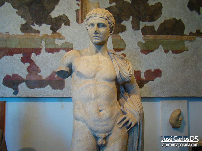 Esculturas Museo Palatino
