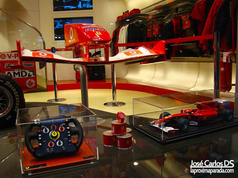 Ferrari Store en Roma