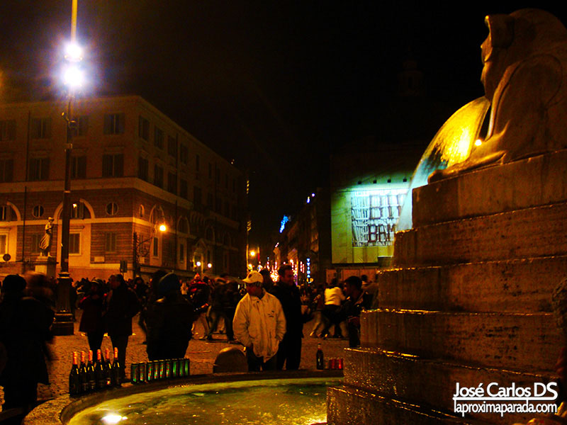 Fin de Año en Plaza del Popolo